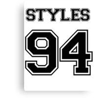 Harry Styles Jersey Canvas Print