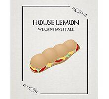 House Lemon Photographic Print