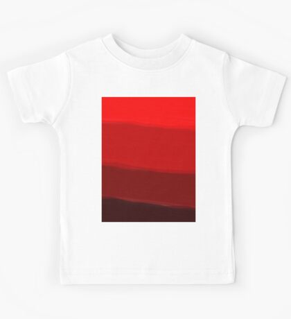 Ombre (All Red) Kids Tee