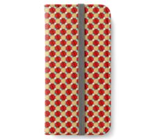 Red & Golden Pattern for Gifts... iPhone Wallet/Case/Skin