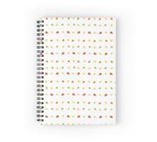 Bird Dots Spiral Notebook