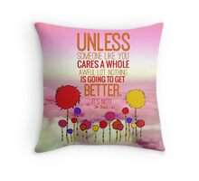 Unless Cloud Throw Pillow