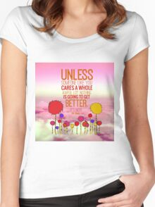 Unless Cloud Women's Fitted Scoop T-Shirt