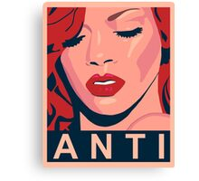 rihanna work 1 Canvas Print