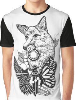Animal Friends Graphic T-Shirt