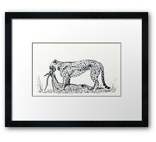 A Tear for Survival Framed Print