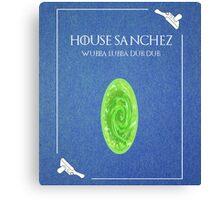House Sanchez Canvas Print