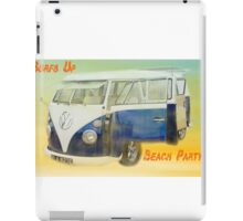 VW Beach Party iPad Case/Skin