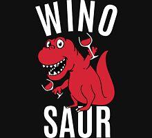 Smile Wino Saur say Winosaur Womens Fitted T-Shirt