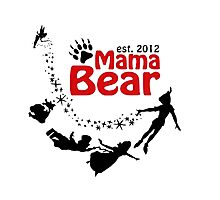 Mama Bear Peter Pan Photographic Print