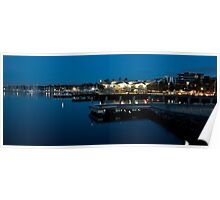 1037 Calm Waters Poster