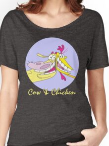 Cow And Chicken : KungCow Chicken Women's Relaxed Fit T-Shirt