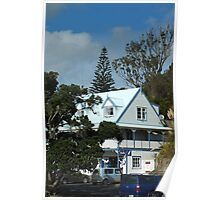 Doubtless Bay Architecture New Zealand Poster