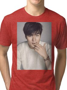 Handsome Lee Min Ho 3 Tri-blend T-Shirt