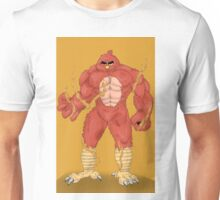 Angry cartoon monster  Unisex T-Shirt