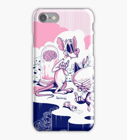 Vote Pinky And Brains, Let 'Em Control The State iPhone Case/Skin
