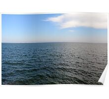 The Black Sea, natural image with sunny day. Poster
