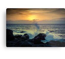 Dramatic sunset Metal Print