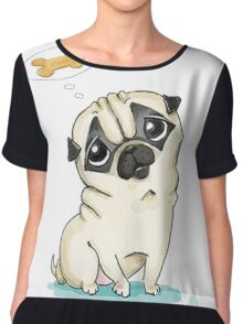 dog Chiffon Top