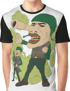 Military, leadership, dictator theme Graphic T-Shirt