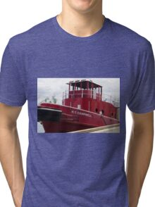 The Fiesty Red Boat Tri-blend T-Shirt