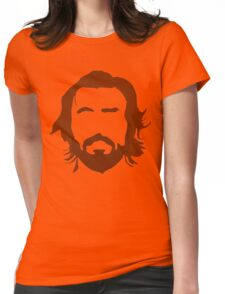 Andrea Pirlo - THE BEARD Womens Fitted T-Shirt
