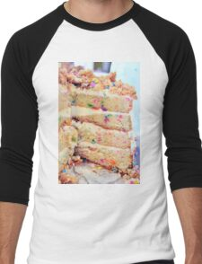 Confetti Cake Men's Baseball ¾ T-Shirt