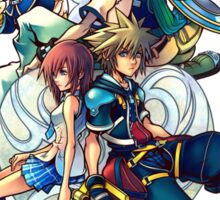 Kingdom Hearts 2 - Characters cover Sticker