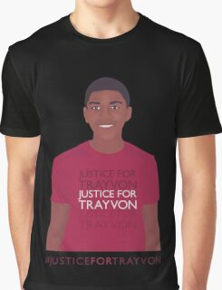 """Justice For Trayvon"" Graphic T-Shirt"