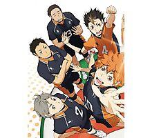 Haikyuu!! poster 1/2 Photographic Print