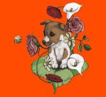 Puppy Bouquet Kids Tee