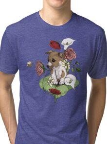 Puppy Bouquet Tri-blend T-Shirt