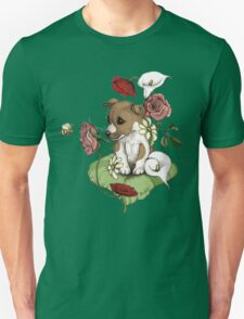 Puppy Bouquet Unisex T-Shirt