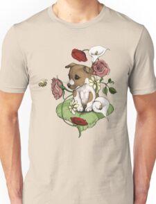 Puppy Bouquet Unisex T-Shirt