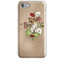 Puppy Bouquet iPhone Case/Skin