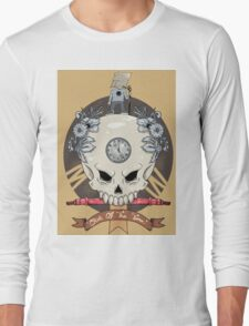 outdie skull Long Sleeve T-Shirt