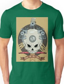 outdie skull Unisex T-Shirt