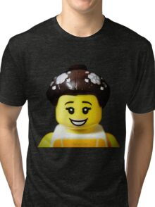 The Ballerina has come to Aaron's Lego Tri-blend T-Shirt