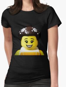 The Ballerina has come to Aaron's Lego Womens Fitted T-Shirt