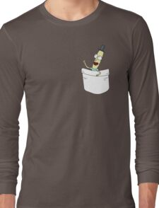 Mr. PoopyButthole Pocket Tee - Rick and Morty Long Sleeve T-Shirt