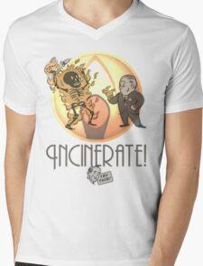 Incinerate! Mens V-Neck T-Shirt