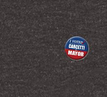 """I Voted Carcetti for Mayor (pin) - """"The Wire"""" T-Shirt"""