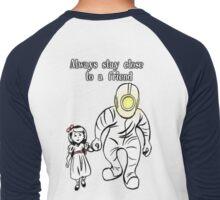 Always Stay Close to a Friend Men's Baseball ¾ T-Shirt