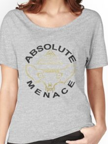 TIGRRIIS - Absolute Menace [Black + Gold] Women's Relaxed Fit T-Shirt