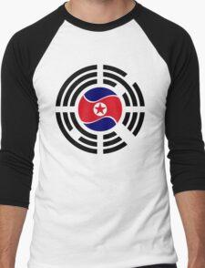 Korean Unity Flag  Men's Baseball ¾ T-Shirt