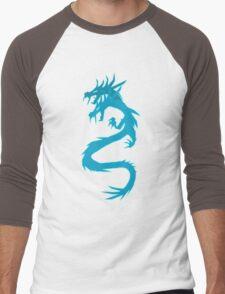 Blue Dragon Men's Baseball ¾ T-Shirt