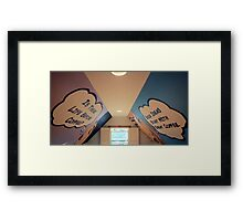 Coffee Humour  Framed Print