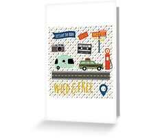 Let's Hit The Road Greeting Card
