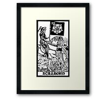 Death Tarot Framed Print
