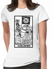 Death Tarot Womens Fitted T-Shirt